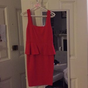 Alice and Olivia Red Dress